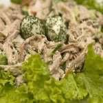 Как приготовить салат гнездо