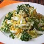 салат китайская капуста кукуруза