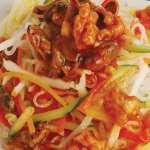 Очень вкусный салат из морепродуктов