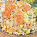 рецепт салата с раковыми шейками