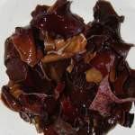 Рецепт салата из древесных грибов