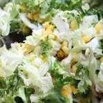 салат капуста курица кукуруза