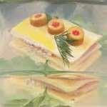 Ветчина заливная с сыром