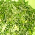 как приготовить салат из черемши