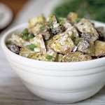 Салат из белых грибов