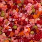Приготовление салата винегрет