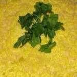 Салат с баклажанами, сыром и куриным филе