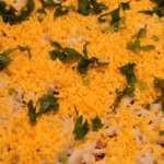 Салат «Акватория» из сельди с орехами и грибами
