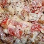 салат свинина помидоры