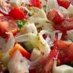 Салат по испански с тунцом