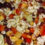 Креативный салат без лишних хлопот