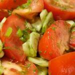 легкий летний салат рецепт