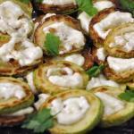 Жаренные кабачки под чесночным соусом
