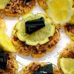 Лимон с шоколадом. Новогодняя закуска под коньяк